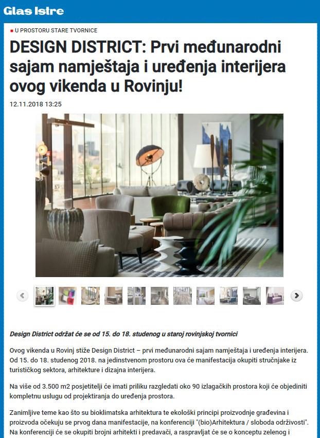 Glas Istre-Članak prije sajma12.11.18